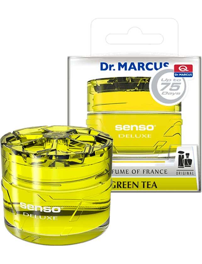 Купить Ароматизатор гелевый Dr. Marcus Senso Deluxe Green Tea, 50 мл