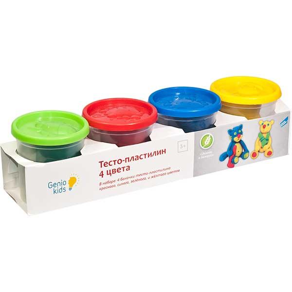 Купить Набор для детского творчества Тесто пластилин 4 цвета TA1010V