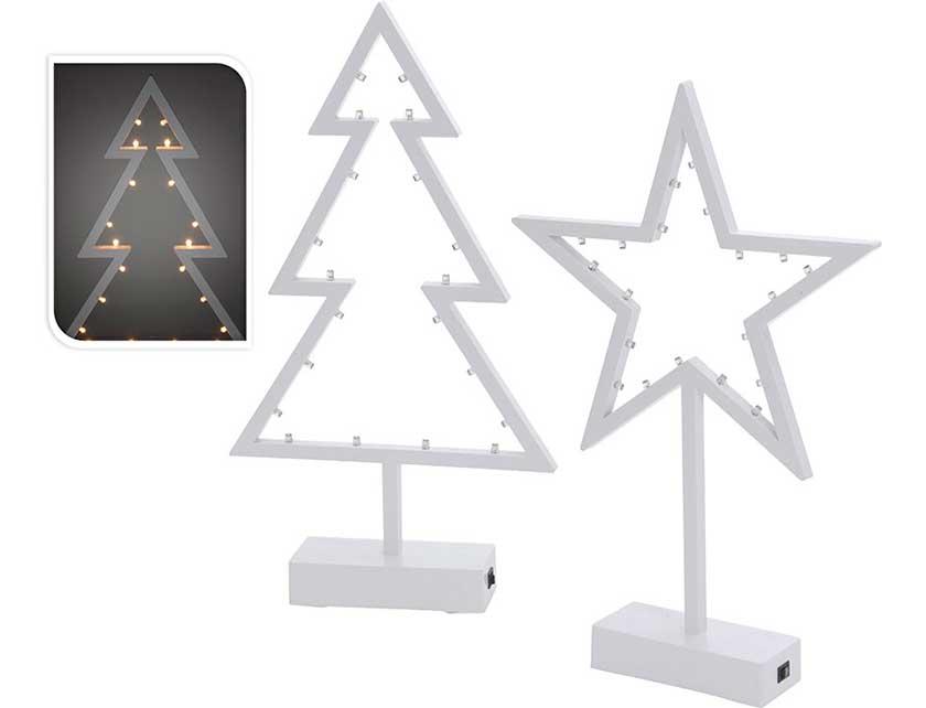 Купить Сувенир новогодний, 38 см, белый, полипропилен