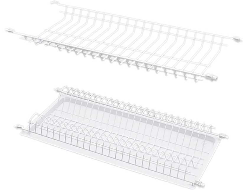 Купить Сушилка для посуды REJS WE06.2824.01.010 45, 402x252x64 мм, белый