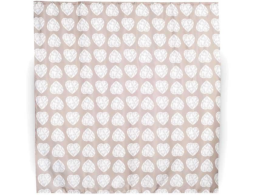 Купить Штора для ванной тканевая 180x180 см Hearts, арт. 631-02 (т.м VERRAN)