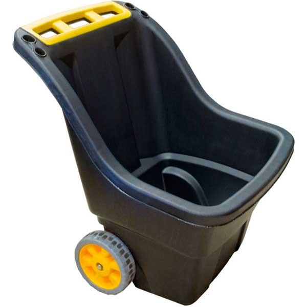 Купить со скидкой Тачка садовая Super Pro 229112 150 л пластик черная