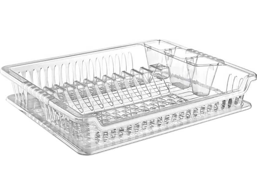 Купить Сушилка для посуды прозрачная 04 1102