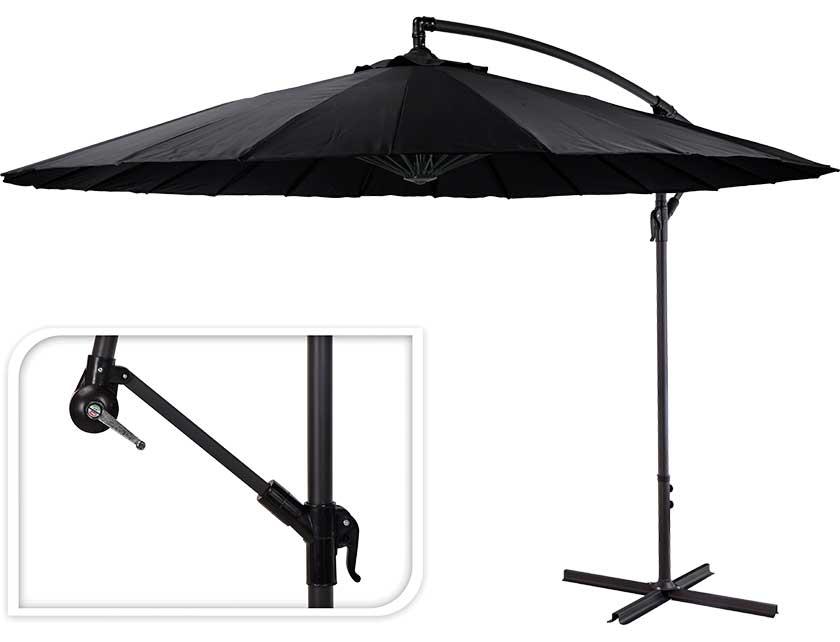 Купить Зонт садовый FD1000100 D300 см черный