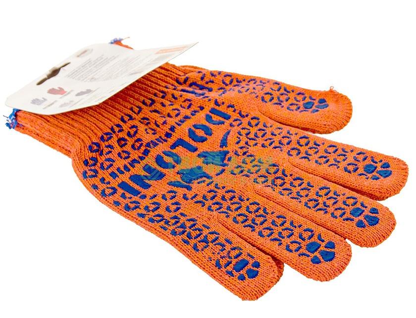 Купить Перчатки трикотажные с ПВХ 526