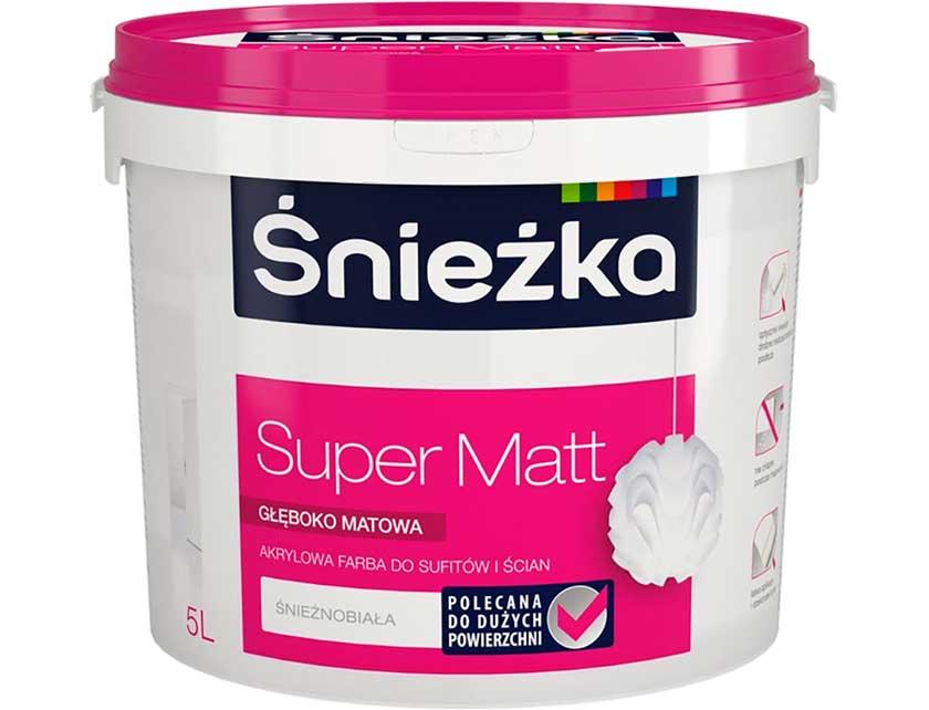 Купить Краска Sniezka Super Matt 5 л