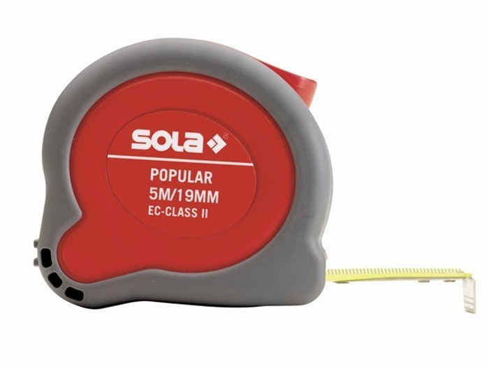 Измерительная рулетка Sola Popular PP, 5 метров