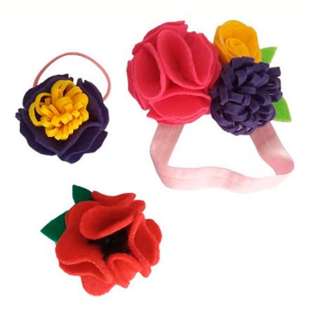 Купить Набор для детского творчества Цветочная принцесса, HIT08