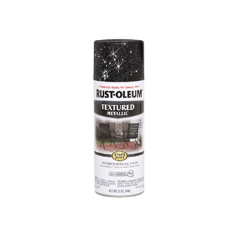 Купить Эмаль-спрей Rust Oleum Stops Rust многоцветная текстурная Галактика 0.34кг