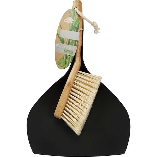 Купить Н-р д/уборки ROZENBAL (совок+щетка-сметка с дерев. рукояткой)
