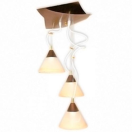Купить Светильник подвесной Конверт 234 медь, 3х60 Вт