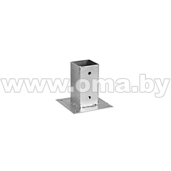 Основание столба прямоугольное PSP 90 91x150x150 мм Арт. 484201  - купить со скидкой