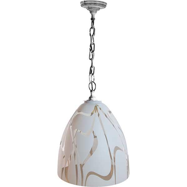Производитель не установлен / Светильник подвесной Антей НСБ 21-60-2342 УХЛ4 белый под серебро (1*60 Вт, E27)