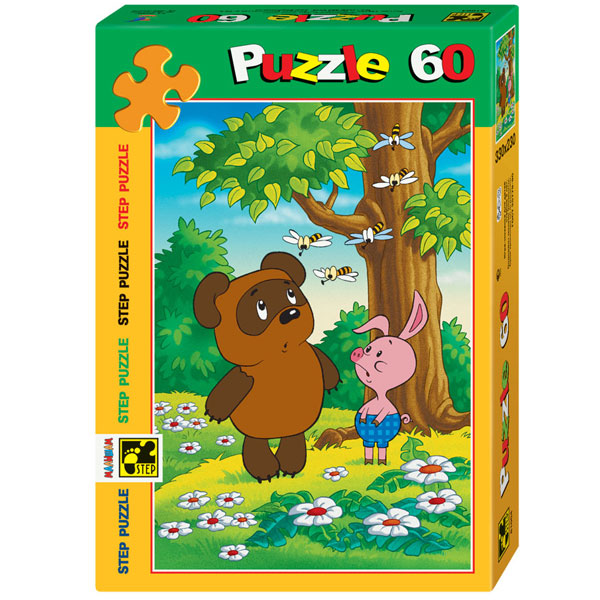 Производитель не установлен / Мазаіка puzzle 60 Віні Пух арт. 81004