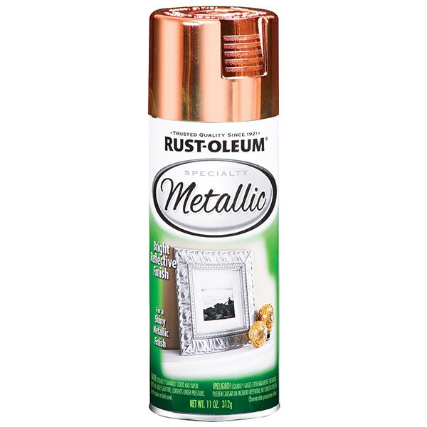Купить Краска Rust Oleum Specialty с эффектом яркого металлика Медь 0.312кг