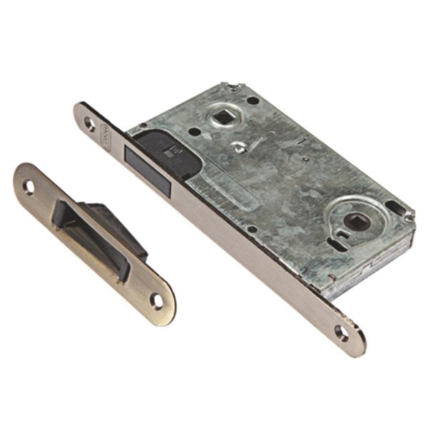 Защелка дверная магнитная L 2090 AB бронза  - купить со скидкой