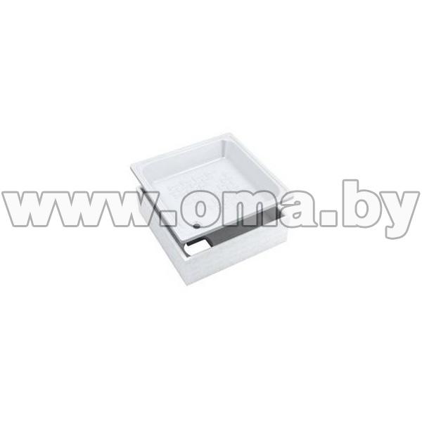 Купить Поддон душевой стальной эмалированный iREGIO Stalset 90x90x28/16 (арт. BRS02)