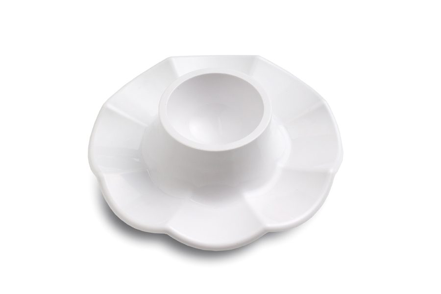 Купить Подставка для яйца пластиковая белая