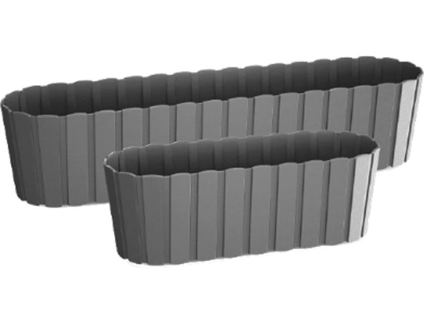 Купить Кашпо BOARDEE DDEC600-405U серый 13см