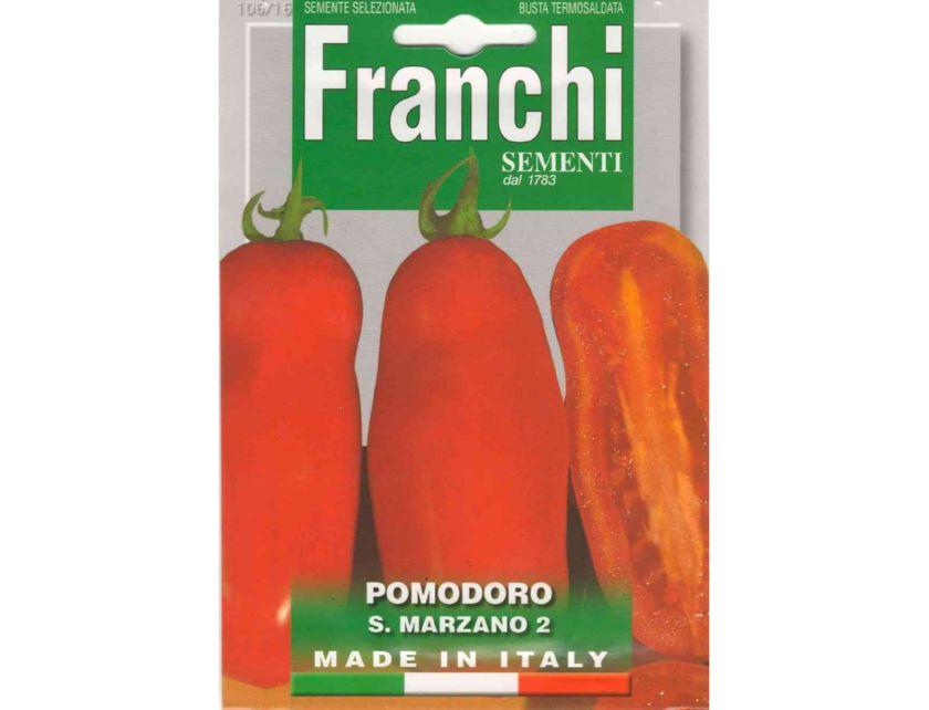 Производитель не установлен / Томат С.Марзано 2 1г., FRANCHI (Италия), (семена)
