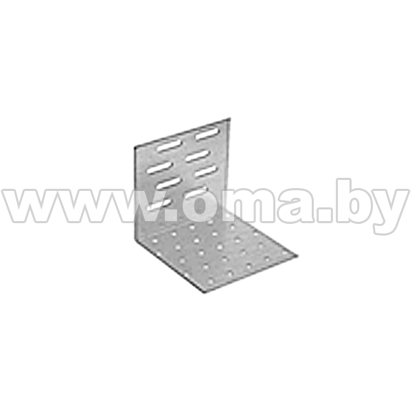 Купить Уголок монтажный регулируемый KMR 1 60x80x60 левый Арт. 423101