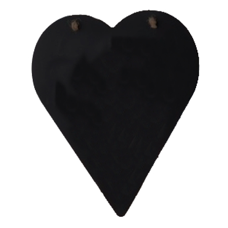 Купить Доска грифельная декоративная Сердце 26х30 см