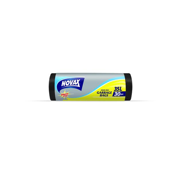 Купить Пакеты для мусора Novax 2560NV 35 л, 30 штук