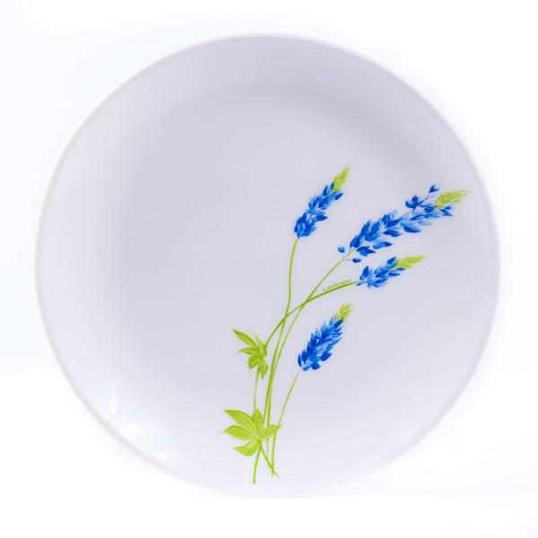 Купить Тарелка мелкая стеклокерамическая Diwali Seine blue, 27 см, L5673