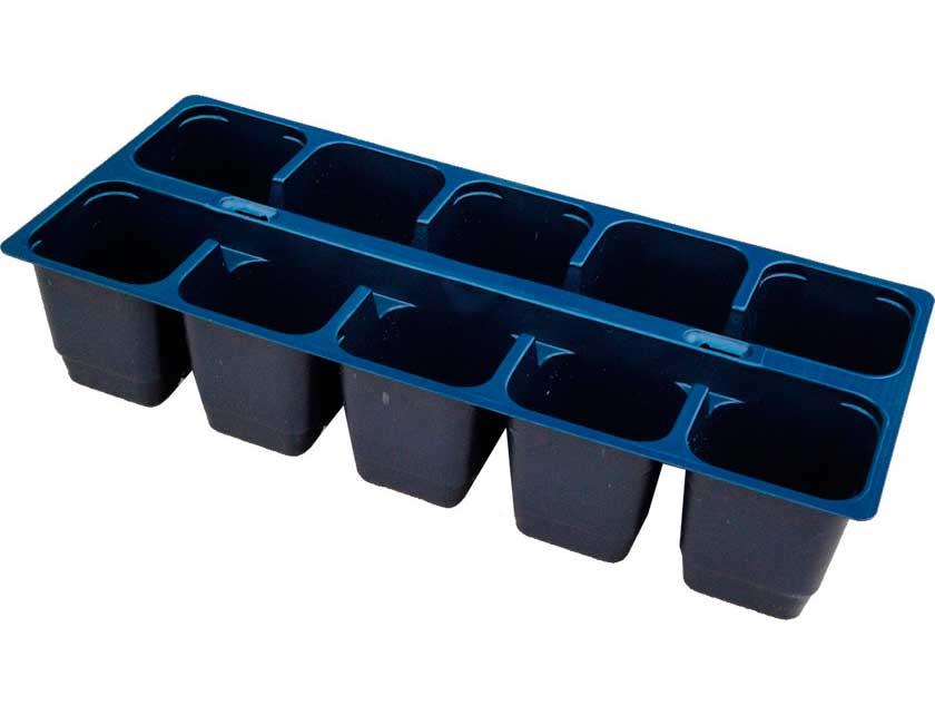 Купить Кассета для рассады пластмассовая 10 ячеек