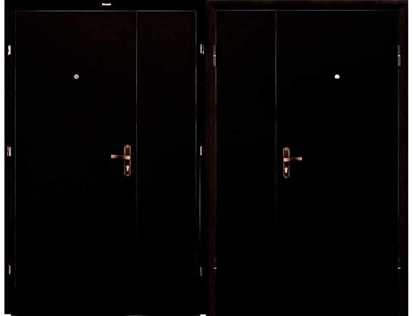 Купить со скидкой Дверь металлическая ПРОФИ(DL)-2050/1250/R