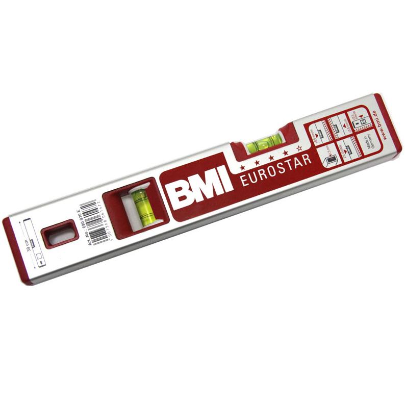 Купить Уровень брусковый BMI EUROSTAR, 2-глазковый, 0, 4 м