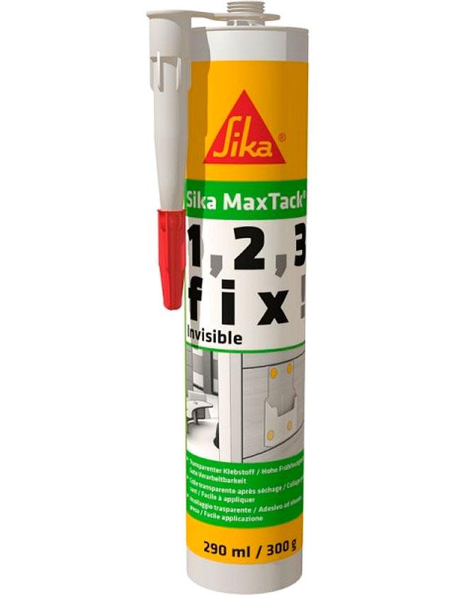 Купить Клей SikaMaxTack invisible бесцветный, 290 мл