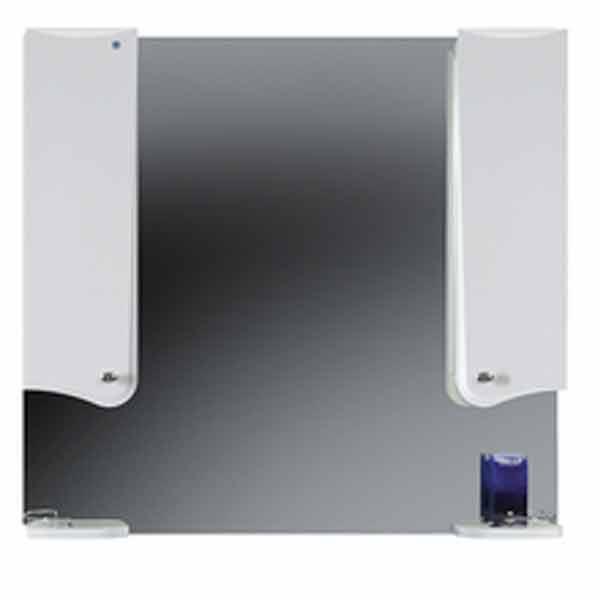 Купить Зеркало со шкафом Модена В 100Ш белое
