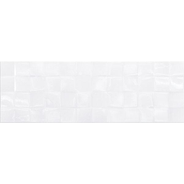 Купить Плитка для стен WHITE GLOSSY STRUCTURE CUBES 200х600 мм