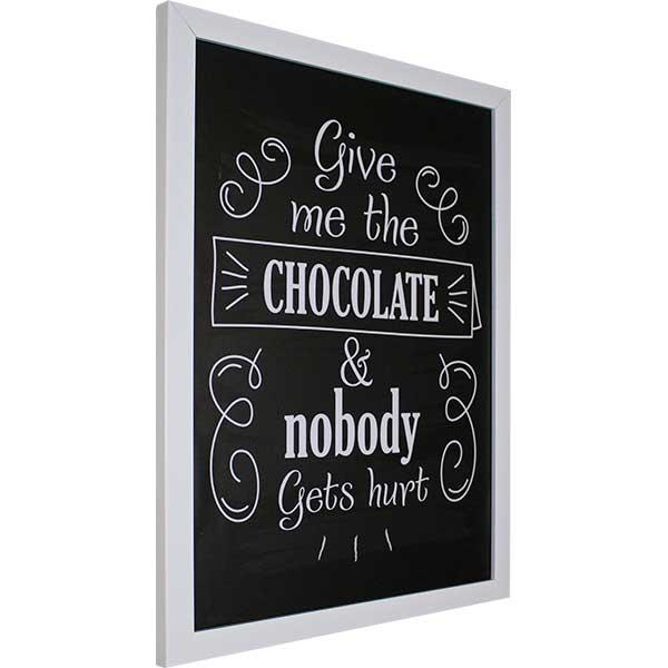 Купить Картина со смыслом Шоколад 1301007, 34х44 см