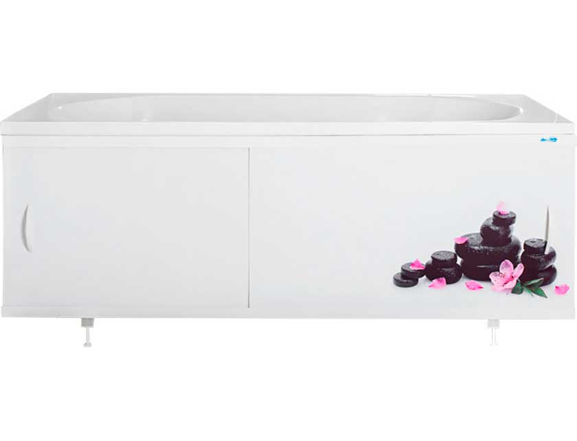 Купить Экран для ванны Ваннбок Дзен фиолет 1, 5 м