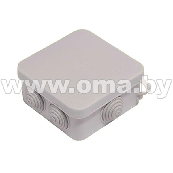 Купить Коробка монтажная, разветвительная для откр. установки прямоугольная КР2603-И (г/р 94, 6х94, 6х44)мм HEGEL