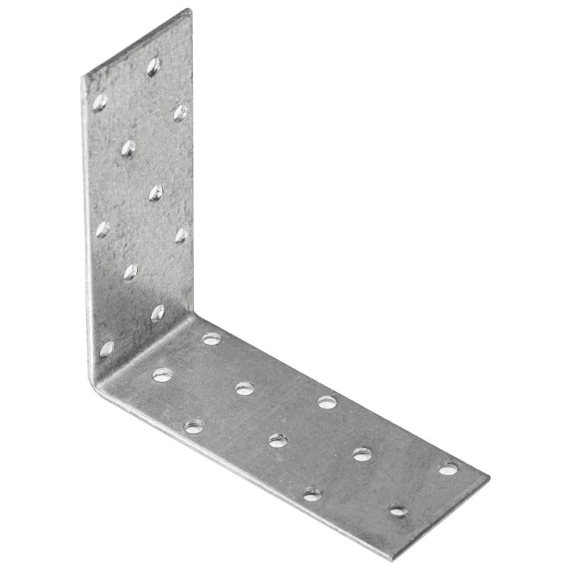 Купить Уголок соединительный оцинкованный Перфорация 100х100х80х2 мм