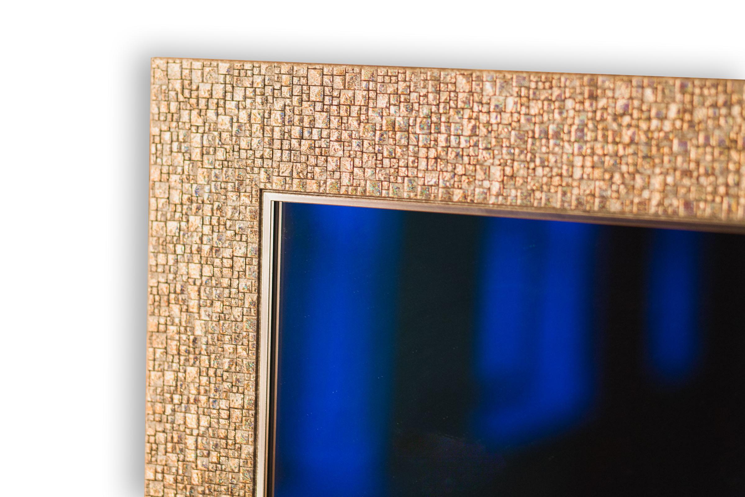 Купить Зеркало Q582-27 c рамой в комплекте, 800х600 мм