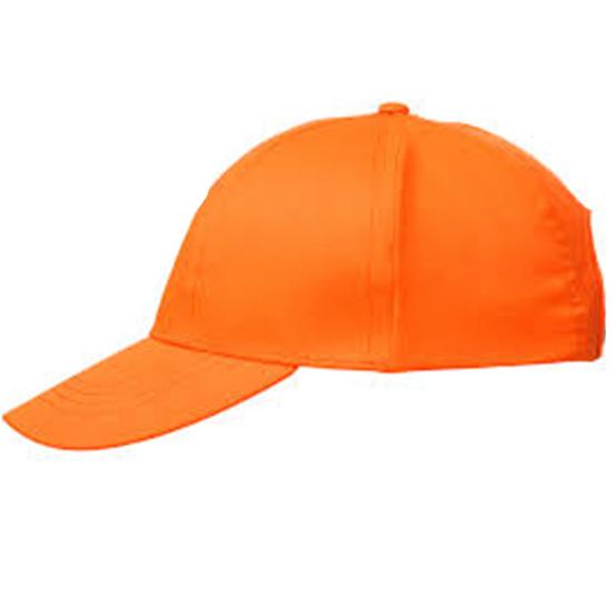 Купить Кепи-бейсболка оранжевая