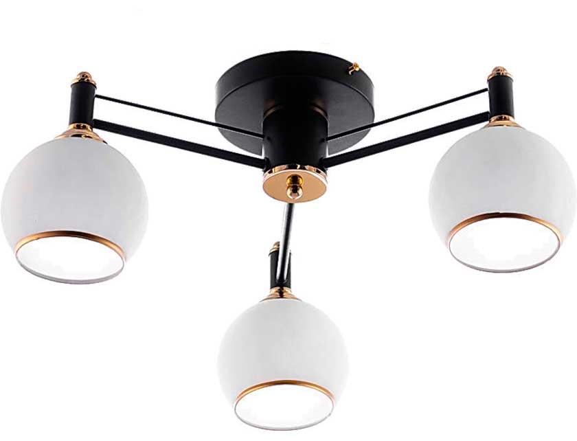 Купить Светильник подвесной (CL) НПБ 02-3х60-105 RH8056/3 черный/золото (3*60Вт, Е27) Айтин-Про