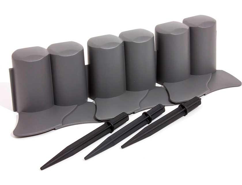 Купить Изгородь декоративная IPAL6-S443 серый