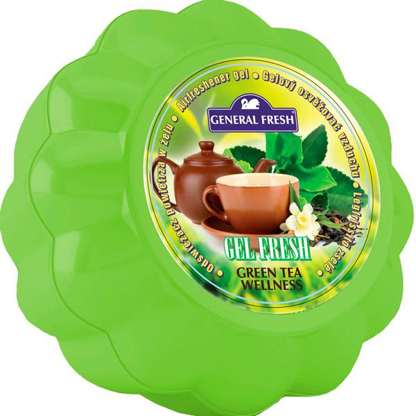 Купить Освежитель воздуха в геле GEL FRESH зеленый чай