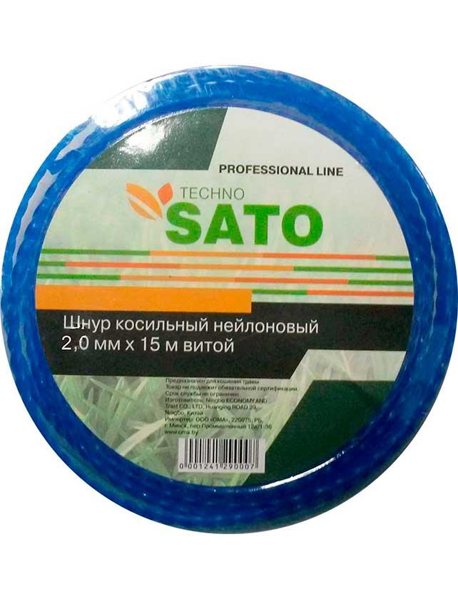 Купить Шнур косильный SATO TECHNO 2 мм, 15 м