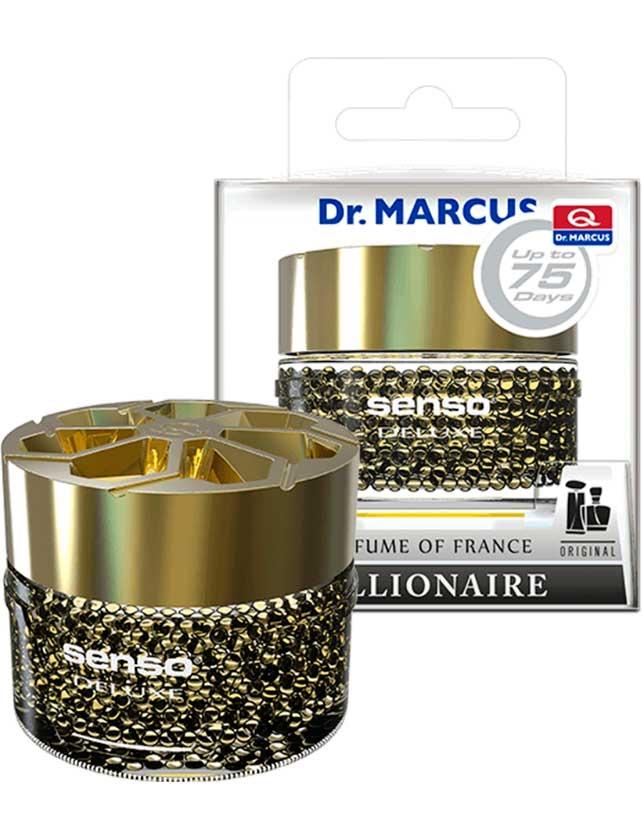 Купить Ароматизатор гелевый Dr. Marcus Senso Deluxe Billionare, 50 мл
