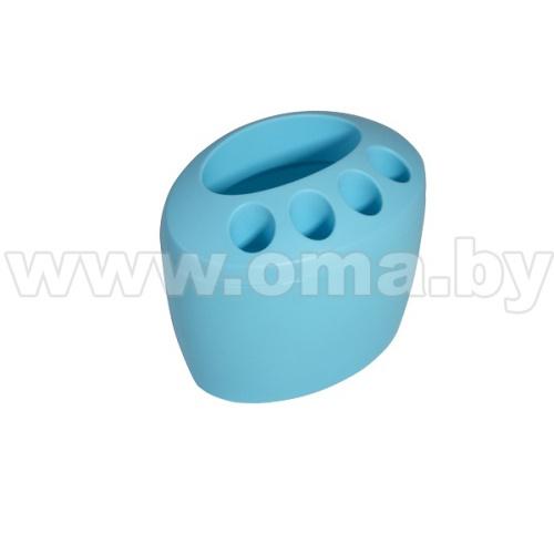 Купить Стакан для зубн. щеток и пасты пластм. Камея 10*15*12см, арт.С15 (784173)