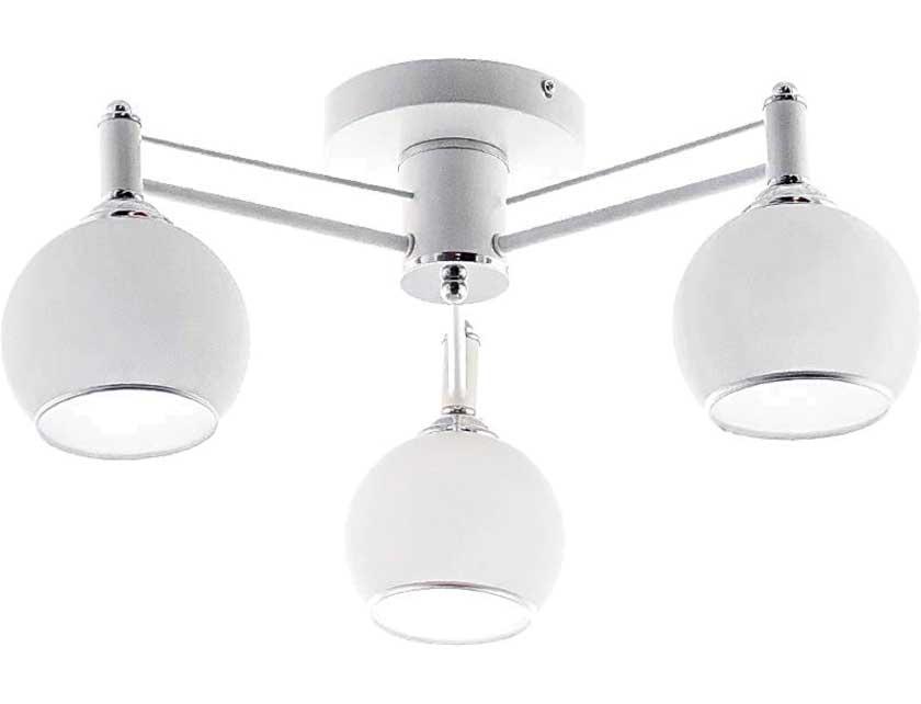 Купить Светильник подвесной (CL) НПБ 02-3х60-105 RH8056/3 белый/хром (3*60Вт, Е27) Айтин-Про