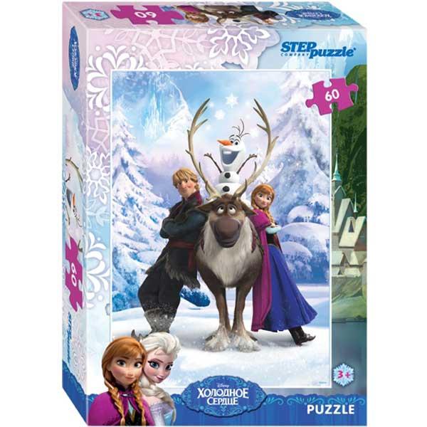 Купить Мозаика puzzle 60 Холодное сердце арт. 81126