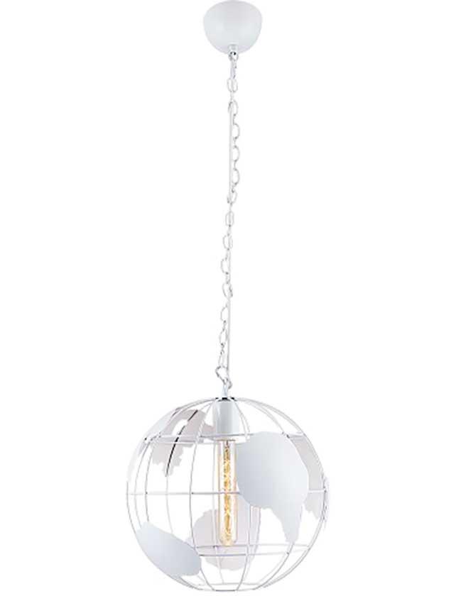 Купить Подвесной светильник OZCAN Deyzi 3701-1А белый, 1х60 Вт