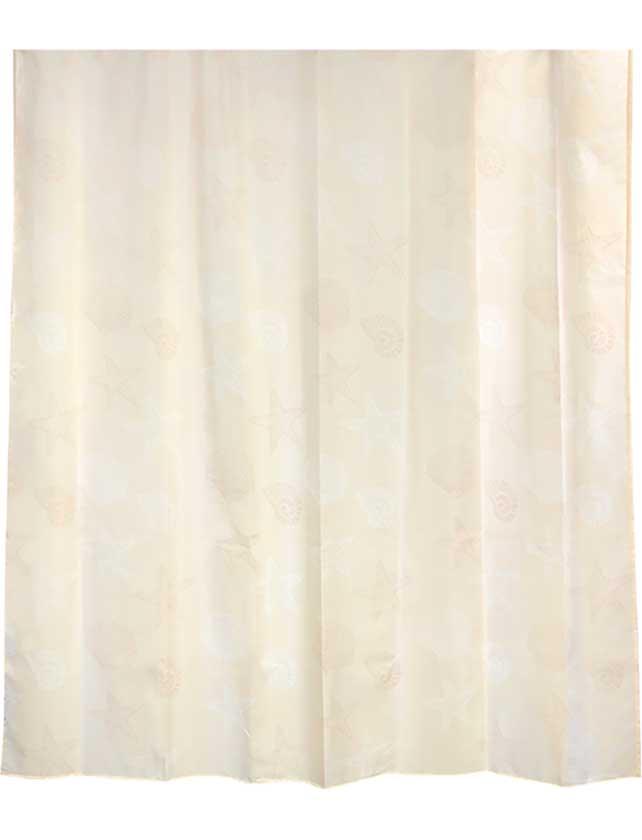 Купить Штора для ванной тканевая 180x180 см Omeni beige, арт. 630-61 (т.м WESS)